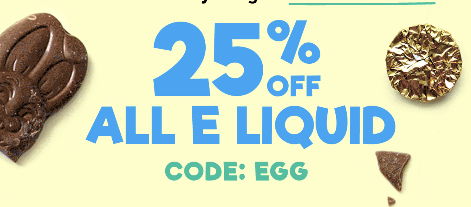 25% OFF SITE WIDE – Easter Sale