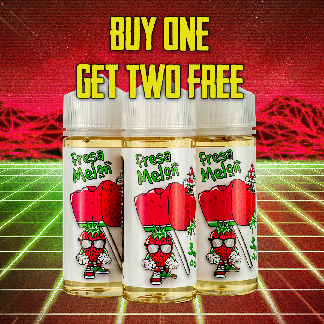 Buy One Get TWO Free Vape Deal – 360ml for only $8.39